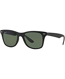 Ray-Ban Polarized Sunglasses, RB4195 WAYFARER LITEFORCE