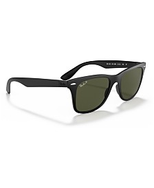 Ray-Ban Polarized Polarized Sunglasses , RB4195 WAYFARER LITEFORCE