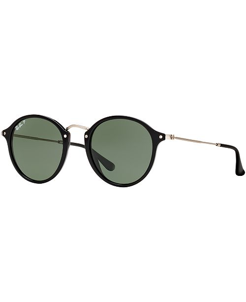 Ray-Ban Polarized Sunglasses , RB2447 ROUND FLECK