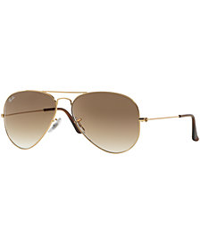Ray-Ban AVIATOR Sunglasses, RB3025 58