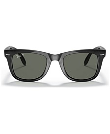 Polarized Sunglasses , RB4105 FOLDING WAYFARER