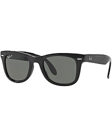 Ray-Ban Polarized Sunglasses , RB4105 FOLDING WAYFARER