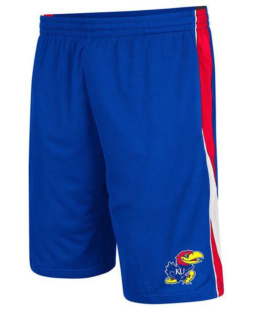 Colosseum Men's Kansas Jayhawks Apex Shorts