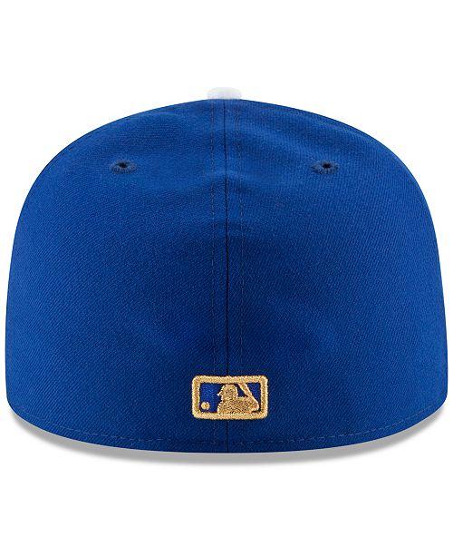 9ba142f3e1c ... New Era Kansas City Royals 2015 World Series Commemorative Gold AC  59FIFTY Cap ...