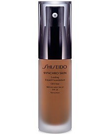 Synchro Skin Lasting Liquid Foundation, 1.1 oz.