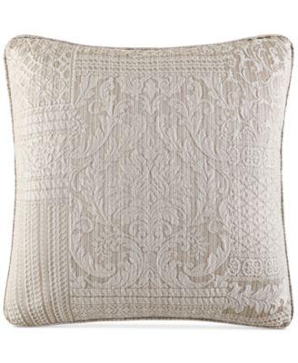 "Wilmington Alabaster 20"" Square Decorative Pillow"