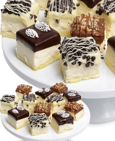 Chocolate Covered Company 15-Pc. Ultimate Belgian Chocolate Dipped Mini Cheesecakes Assortment