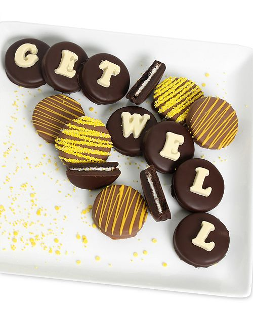 Chocolate Covered Company  12-Pc. GET WELL Belgian Chocolate Covered OREO® Cookies