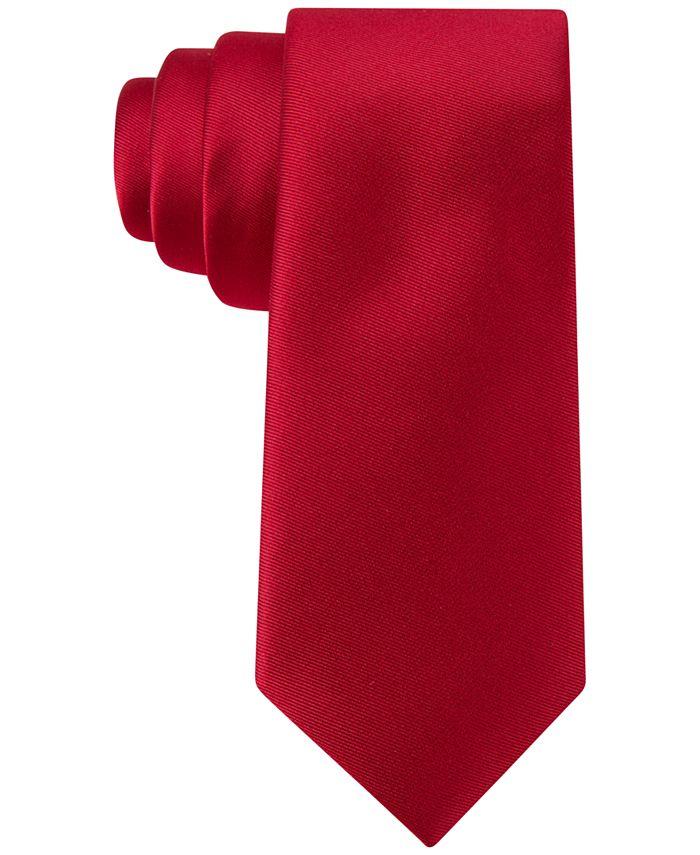 Tommy Hilfiger - Boys' Twill Solid Tie