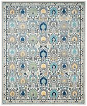 CLOSEOUT! Safavieh Evoke EVK251D Ivory/Grey Area Rugs