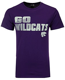 J America Men's Kansas State Wildcats Slogan Stack T-Shirt