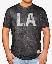 Retro Brand Men's Los Angeles Kings Mock Twist City Initial T-Shirt