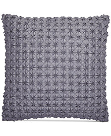 "Hotel Collection Modern Plaid 18"" Square Decorative Pillow, Created for Macy's"