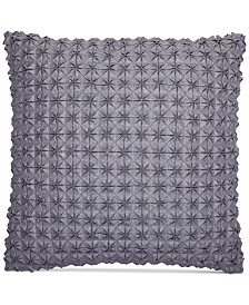 """CLOSEOUT! Hotel Collection Modern Plaid 18"""" Square Decorative Pillow, Created for Macy's"""