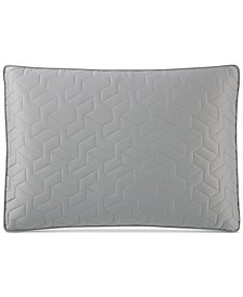 Cubist Quilted King Sham, Created for Macy's