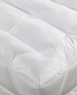 Dream Science Gel Enhanced Memory Foam Queen Fiberbed by Martha Stewart Collection, Created for Macy's