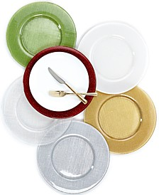 Serveware Glass Charger Collection