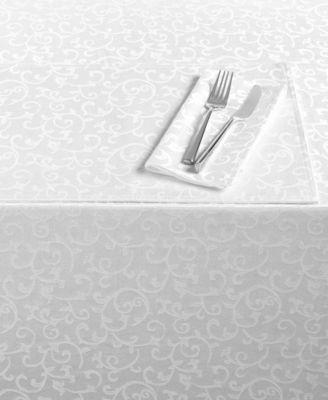 """Opal Innocence 60"""" x 140"""" Oblong Tablecloth"""