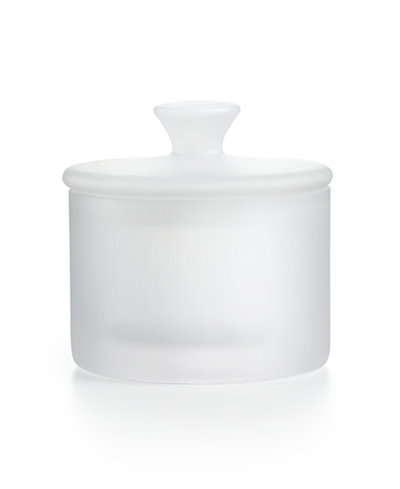 CLOSEOUT! Hotel Collection Small Frosted Glass Jar, Created for Macy's