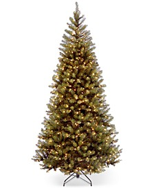 7.5' Aspen Spruce Hinged Christmas Tree with 450 Clear Lights