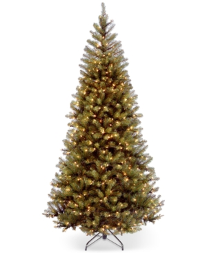 National Tree Company 75 Aspen Spruce Hinged Christmas Tree with 450 Clear Lights