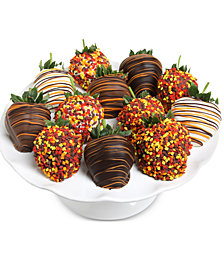 Chocolate Covered Company  12-Pc. Fall Belgian Chocolate-Covered Strawberries Gift Box