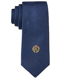 Lauren Ralph Lauren Boys' Solid Crest Tie