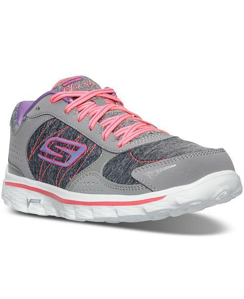 2b1fd20d4098 Skechers Women s Go Walk 2 - Flash Running Shoes from Finish Line ...