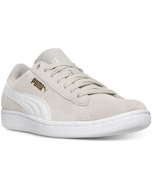 b40ca38e7679 Puma Women s Vikky Canvas Casual Sneakers from Finish Line ...