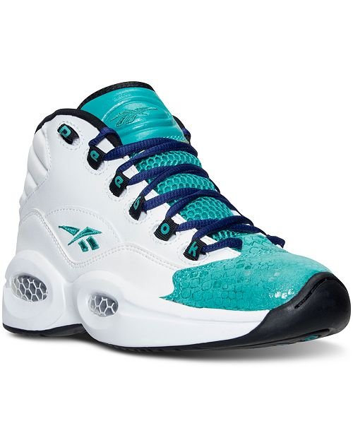 711657d3813e Reebok Big Girls  Question Mid Basketball Sneakers from Finish Line ...