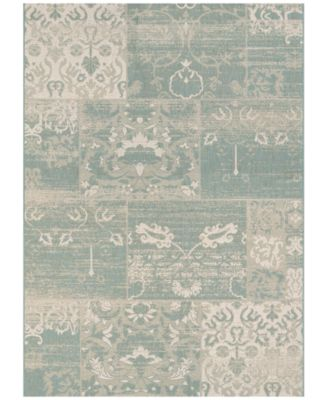"""Afuera Indoor/Outdoor Country Cottage 6'6"""" x 9'6"""" Area Rug"""