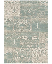 "Afuera Indoor/Outdoor Country Cottage 6'6"" x 9'6"" Area Rug"