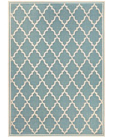 "Monaco Ocean Port 3'9"" x 5'5"" Indoor/Outdoor Area Rug"