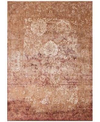 "Andreas   AF-18 Copper/Ivory 2' 7"" x 8' 0"" Runner Area Rugs"