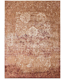 "Macy's Fine Rug Gallery Andreas   AF-18 Copper/Ivory 5' 3"" Round Area Rugs"