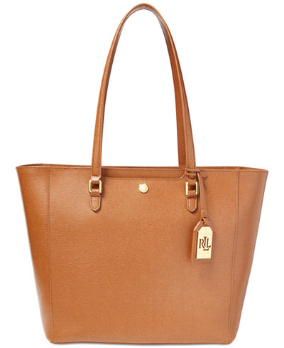Image result for LAUREN RALPH LAUREN Saffiano Leather Tote