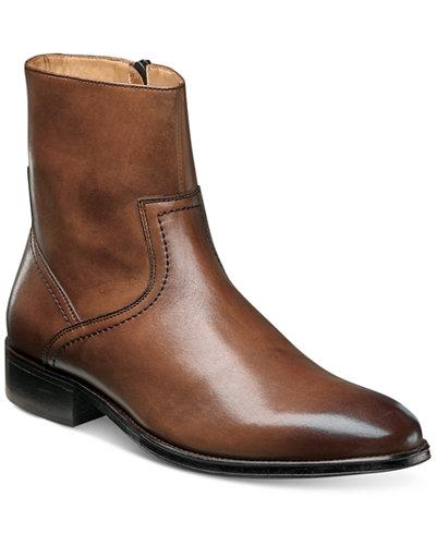 Florsheim Men's Capital Plain Toe Zip Boots