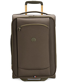 "CLOSEOUT! Delsey Hyperlite 2.0 20"" Expandable Carry-on Rolling Suitcase, Created for Macy's"
