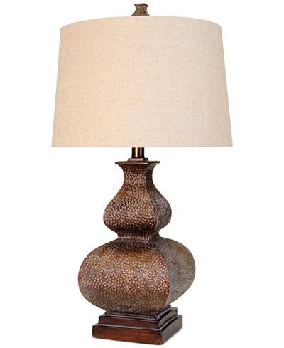 StyleCraft Chalk Wash Table Lamp