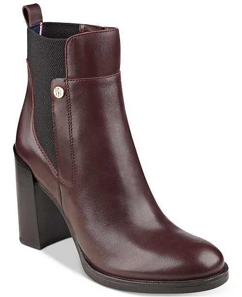 dfd230f13 Tommy Hilfiger Britton Ankle Booties  Tommy Hilfiger Britton Ankle Booties  ...