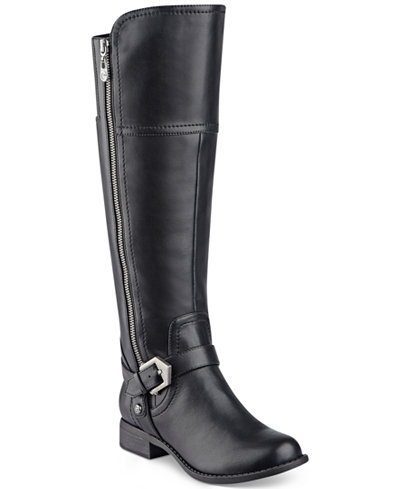 G by GUESS Hailee Wide-Calf Riding Boots - Boots - Shoes - Macy's