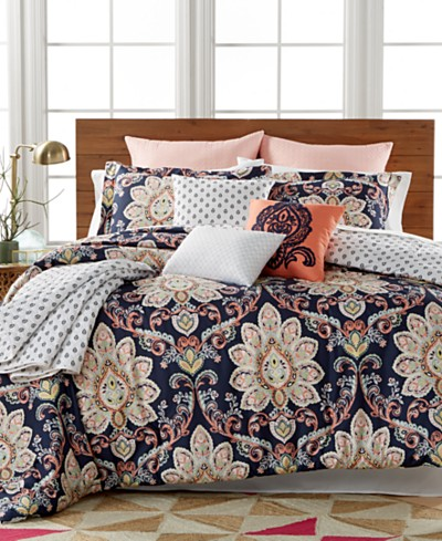 Milan 10-Pc. Reversible Comforter Sets, Created for Macy's
