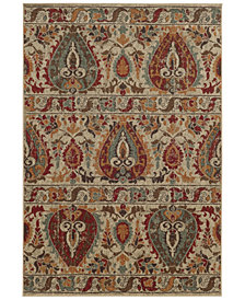 "Tommy Bahama Home Voyage 104W Beige 7' 10"" x 10' 10"" Area Rug"