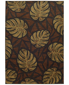 "Tommy Bahama Home Voyage 5994N Brown 6' 7"" x 9' 6"" Area Rug"