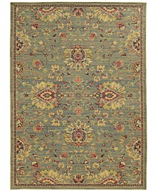 "Cabana Indoor/Outdoor 2L Blue 5' 3"" x 7' 6"" Area Rug"