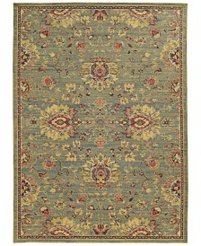 Tommy Bahama Home Cabana Indoor/Outdoor 2L Blue Area Rugs