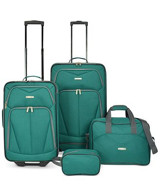 Travel Select Kingsway Four Piece Luggage Set, Created for Macy's ...