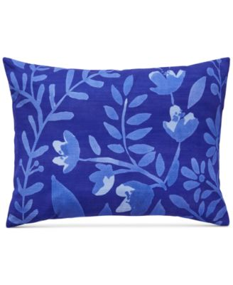 "CLOSEOUT! Juliette Botanical Print 12"" x 16"" Decorative Pillow"