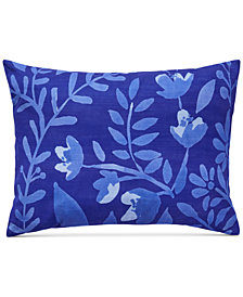 "CLOSEOUT! bluebellgray Juliette Botanical Print 12"" x 16"" Decorative Pillow"