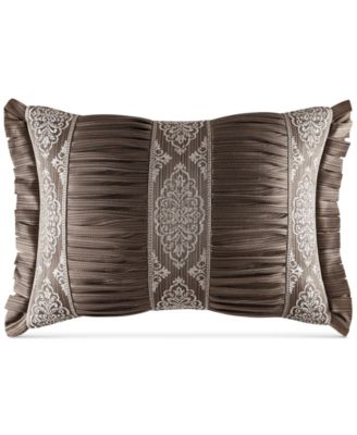 "J. Queen New York Stafford Boudoir 15"" x 21"" Decorative Pillow"